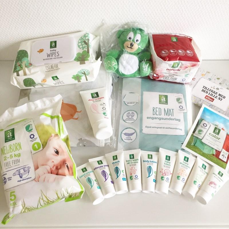 Gratis babypakker