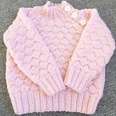 Strikket sweater
