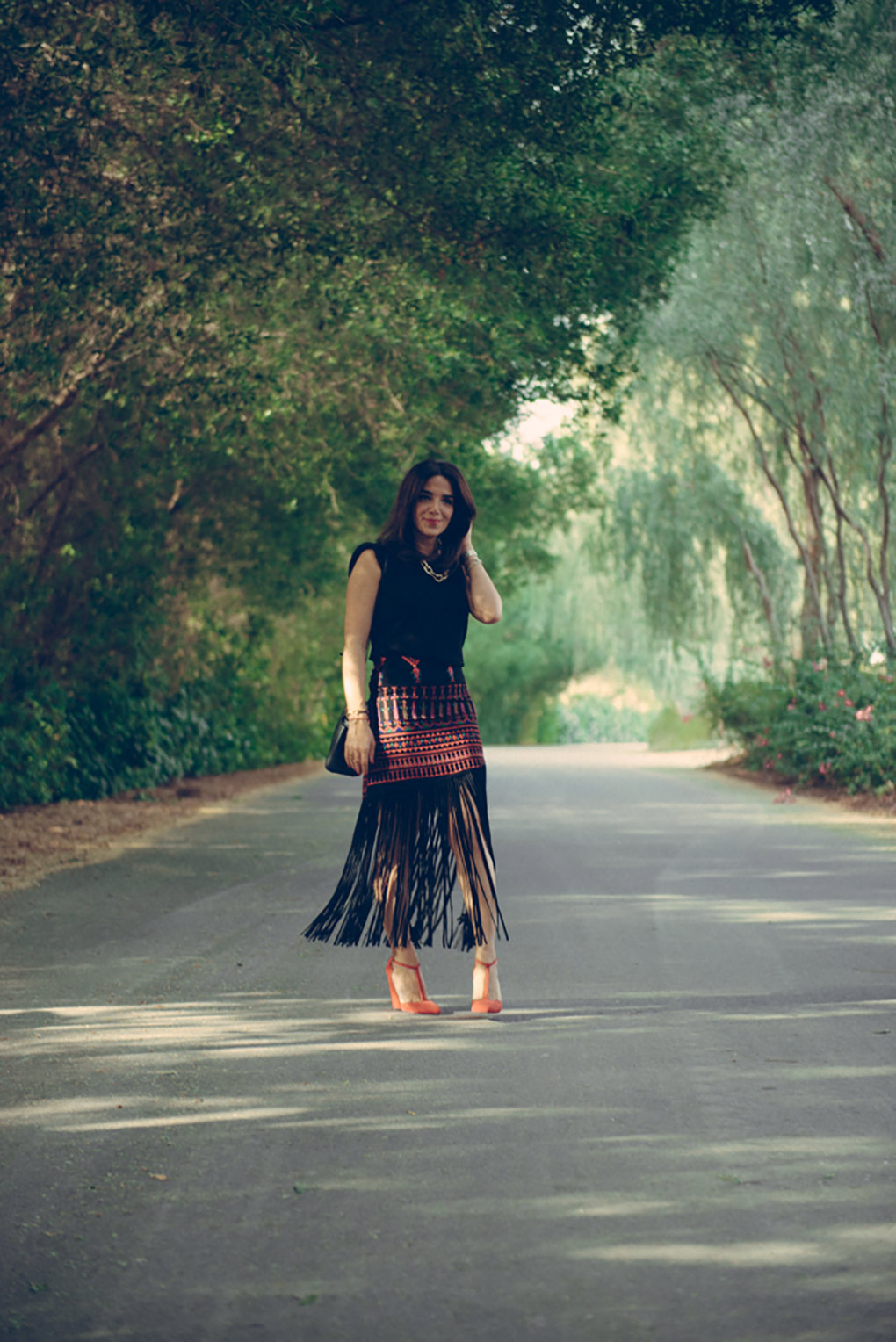 Lyla_Love_Fashion_Mochi_Fringe_skirt-5
