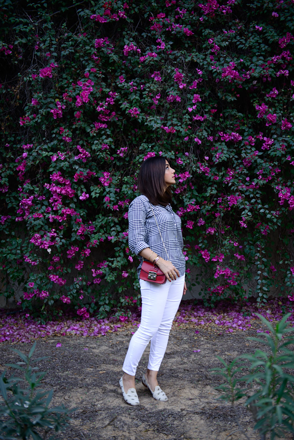 Lyla_Love_Fashion_plaid_monochrome_white_denim-34