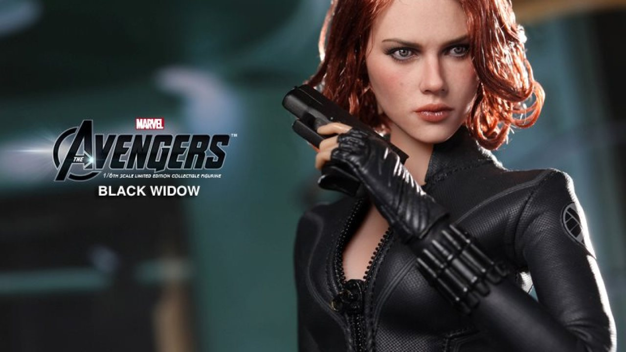 Hot Toys The Avengers Black Widow Collectible Figure Lyles Movie Files