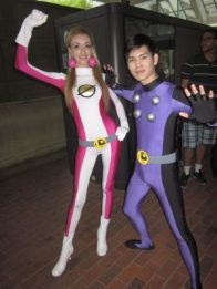 baltimore comic con 2012 - saturn girl and cosmic boy