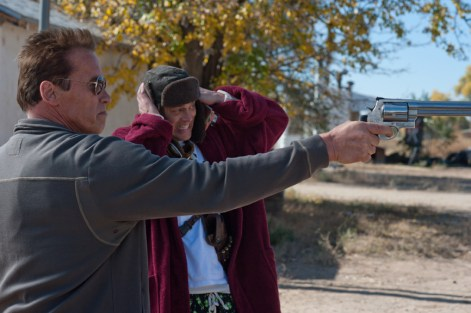 the last stand review -arnold-schwarzenegger-and-johnny-knoxville-in-the-last-stand