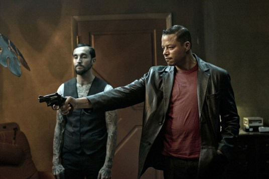Dead Man Down Luis Da Silva Jr. and Terrence Howard