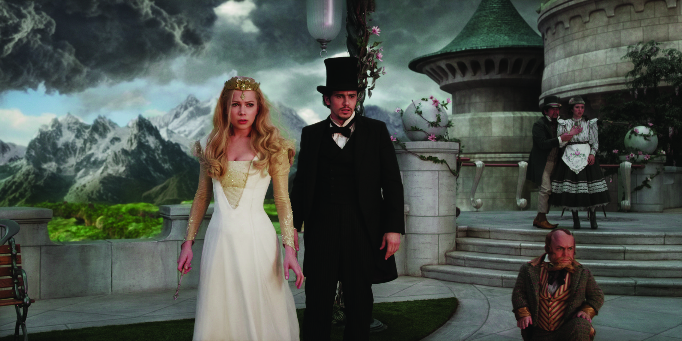 Oz The Great And Powerful Movie Review Charming Prequel