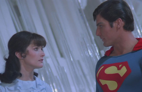 Superman II Lois and Superman