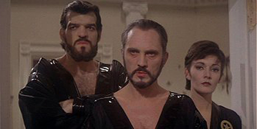 Superman II Non, General Zod and Ursa