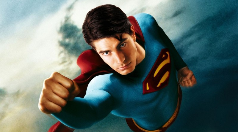 Superman Returns poster Brandon Routh as Superman