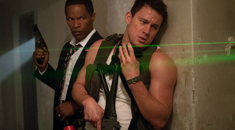 Jamie Foxx and Channing Tatum WHITE HOUSE DOWN