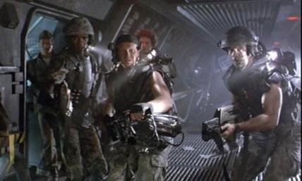 Aliens 1986 Gormon, Frost, Drake and Hicks