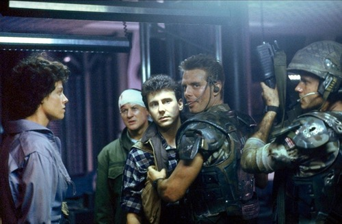 Aliens 1986 Ripley, Gorman, Burke, Hicks and Hudson
