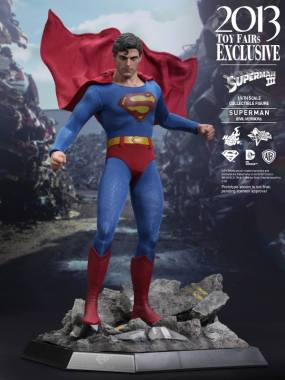 Hot Toys Superman III Evil Superman cape flow
