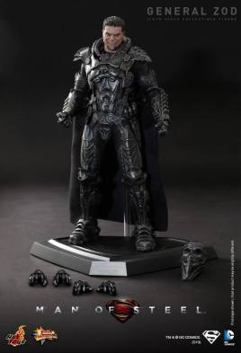 Hot Toys Man of Steel General Zod accessories