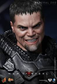 Hot Toys Man of Steel General Zod close up headshot