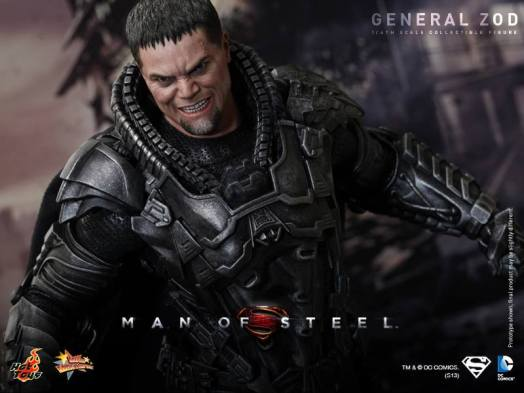 Hot Toys Man of Steel General Zod closer wide shot