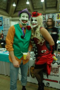 Baltimore Comic Con 2013 - another Joker and Harley