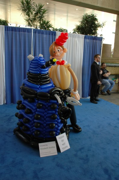Baltimore Comic Con 2013 - balloon exhibit