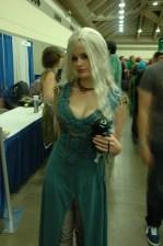 Baltimore Comic Con 2013 - Danearyes Targarean and dragon