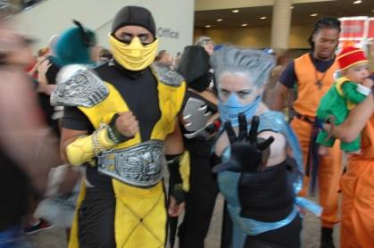 Baltimore Comic Con 2013 - Scorpion and Sub-Zero