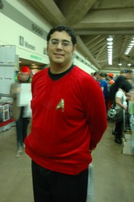 Baltimore Comic Con 2013 - Star Trek ensign