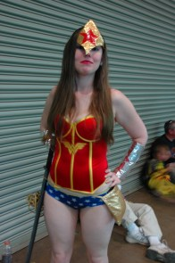 Baltimore Comic Con 2013 - Wonder Woman with sword