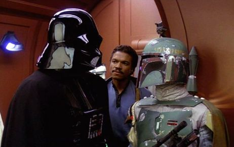 The Empire Strikes Back - Darth Vader, Lando and Boba Fett