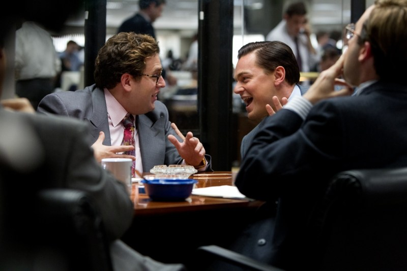 Mary Cybulski/Paramount Pictures Jonah Hill is Donnie Azoff and Leonardo DiCaprio is Jordan Belfort.