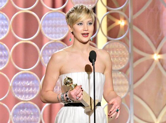 2014 Golden Globes Jennifer Lawrence