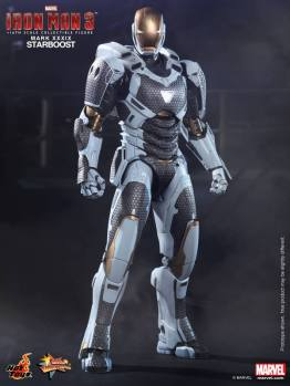 Hot Toys Iron Man 3 Starboost figure - standing straight