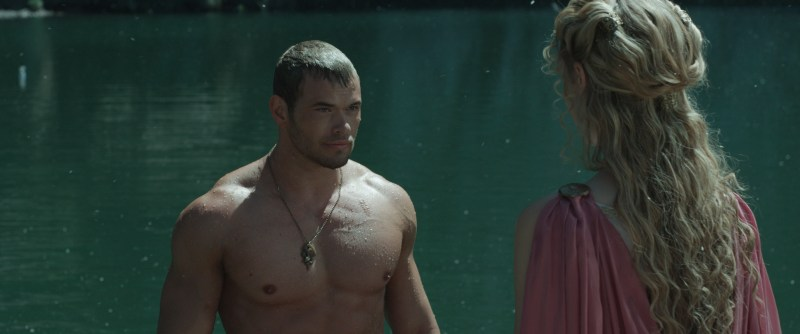 Summit Entertainment Kellan Lutz and Gaia Weiss.