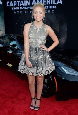 Alberto E. Rodriguez/Getty Images Actress Olivia Holt