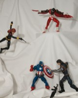 Captain America, Avengers Marvel Legends figures