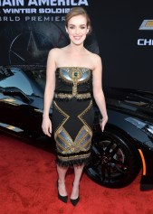Alberto E. Rodriguez/Getty Images Actress Elizabeth Henstridge.