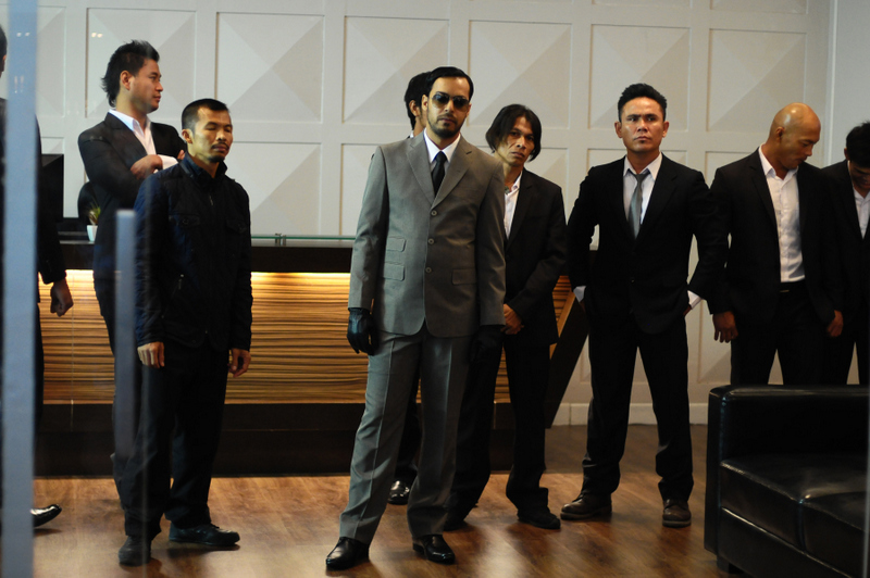 Akhirwan Nurhaidir and Gumilar Triyoga/Sony Pictures Classics Bejo (Alex Abbad) and his army.