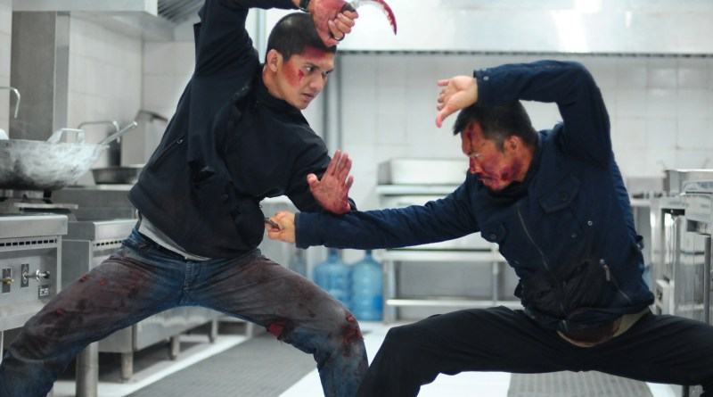 The Raid 2 - Iko Uwais as Rama and Cecep Arif Rahaman as The Assassin