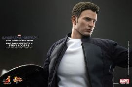 Hot Toys Captain America The Winter Soldier - Steve Rogers close up