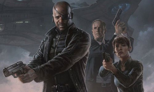 Marvel's Agents of SHIELD Nick Fury, Agent Coulson and Agent Hill
