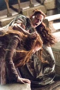 Game of Thrones Ep. 7 - Mockingbird Lyssa and Sansa