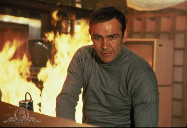 You Only Live Twice - Sean Connery as 007 James Bond
