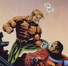 Aquaman vs Superman