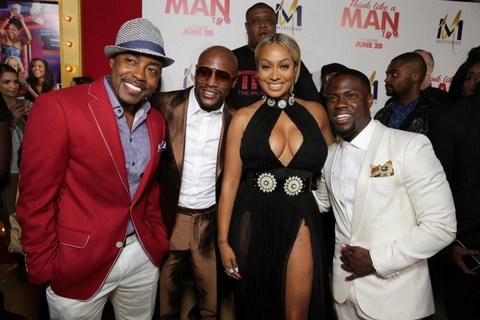Think Like a Man Too - Floyd Mayweather, La La Anthony and Kevin Hart_12