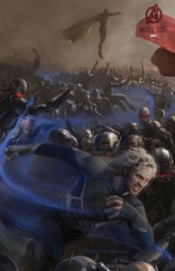Avengers Age of Ultron - Vision and Quicksilver