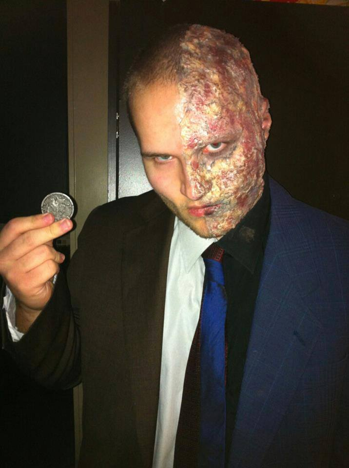 Cosplay C - Jordan as Two-Face