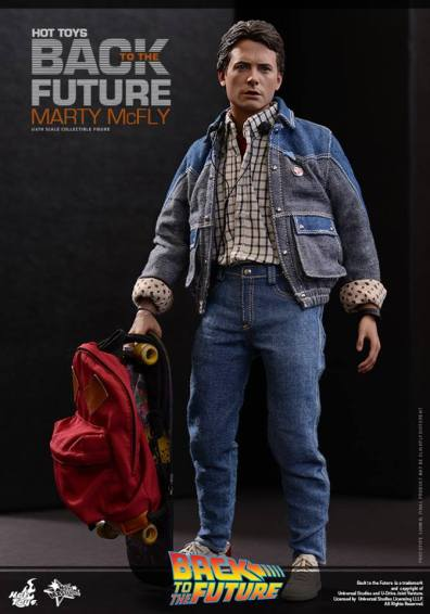 Hot Toys Back to the Future Marty McFly with vest off