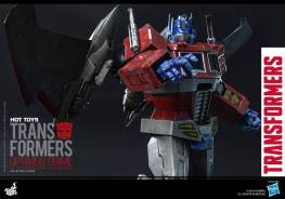 Hot Toys Gen 1 Optimus Prime - Starscream variant - pointing