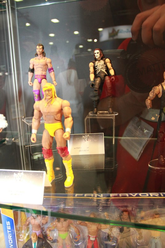 Mattel Razor, Hulk and Sting Flashbacks