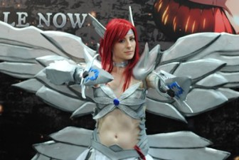 SDCC2014 cosplay - angel