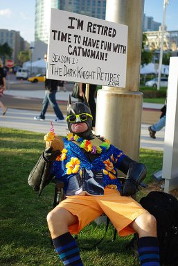 SDCC2014 cosplay - Batman retired