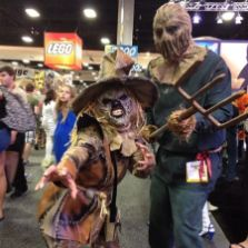 SDCC2014 cosplay - Ben and Scarecrow