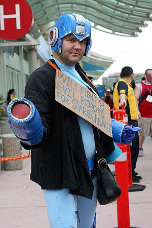 Mega Man eager for work